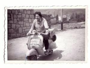 Foto Gloria Fuertes, 1958