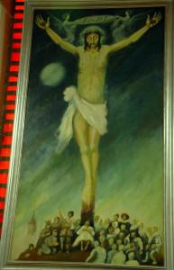 El Cristo de los Locos - C.G.R. (Óleo sobre lienzo)