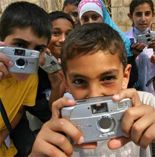 Proyecto de Kids with Cameras en Jerusalén (Fuente: KIDS WITH CAMERAS).
