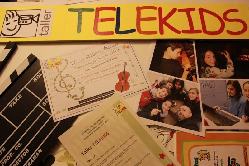 """Documental """"Luces, Música… ¡Acción! Detrás de las partituras de la JOFS"""" realizado sobre la Joven Orquesta Filarmonía de Sevilla por niños de 10 y 11 años, participantes del Taller Telekids."""