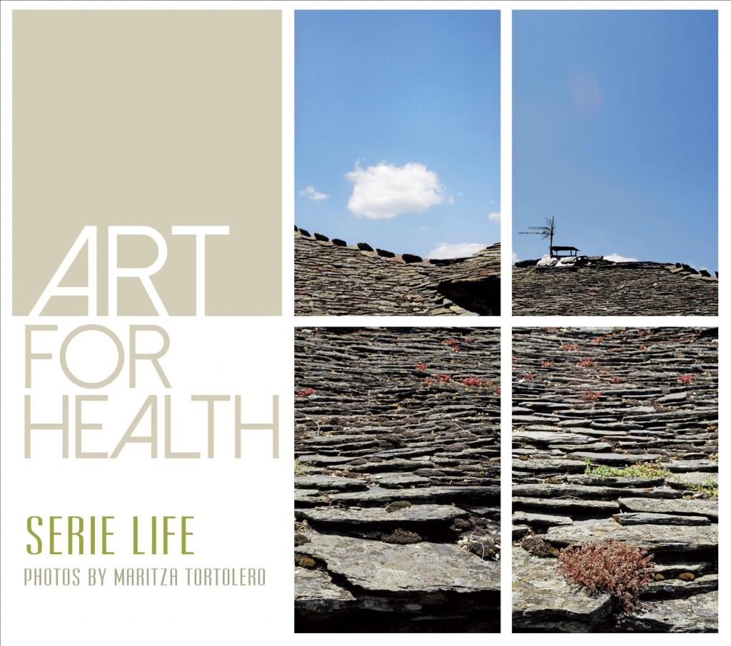 """Postal de la campaña """"Art for Health"""", de Maritza Tortolero"""