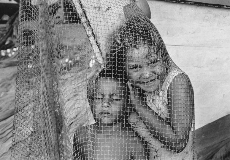 """Imagen perteneciente a la colección """"Redes"""" de Maritza Tortolero (Isla de Margarita, Venezuela, 2003)"""