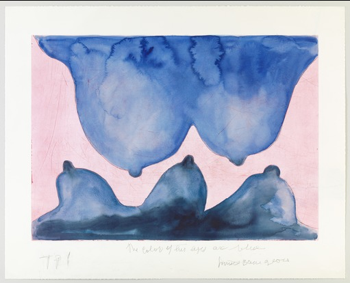 """Blue is de colour of you"", una de las obras de Louise Bourgeois que se pueden encontrar en la galería virtual del MOMA de Nueva York (Estados Unidos)"