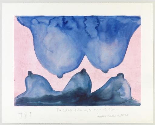 """""""Blue is de colour of you"""", una de las obras de Louise Bourgeois que se pueden encontrar en la galería virtual del MOMA de Nueva York (Estados Unidos)"""