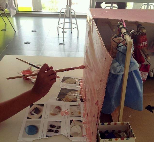 Proyectos artísticos en la escuela Ideo (Archivo Escuela Ideo)