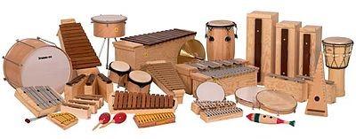 Instrumentos de percusión Orff