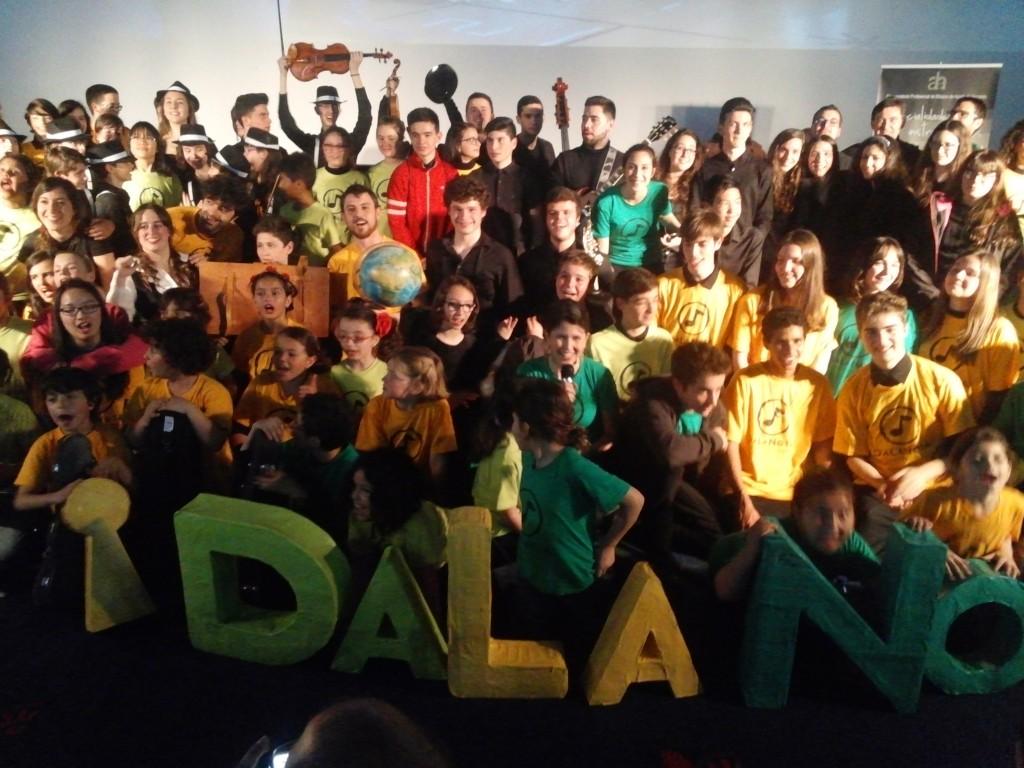Concierto del Programa Musicosocial DaLaNota, realizado junto a las agrupaciones del Conservatorio de Alcalá, el pasado jueves, 17 de Marzo de 2016 en los Cines del Centro Comercial La Dehesa, de Alcalá de Henares, un evento para destacar el interés de los conservatorios por prácticas más inclusivas y creativas.