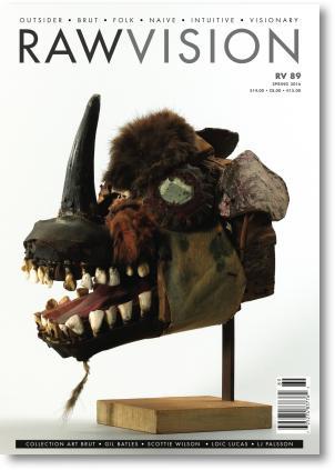 La revista RAW VISION, de Arte Psicológico